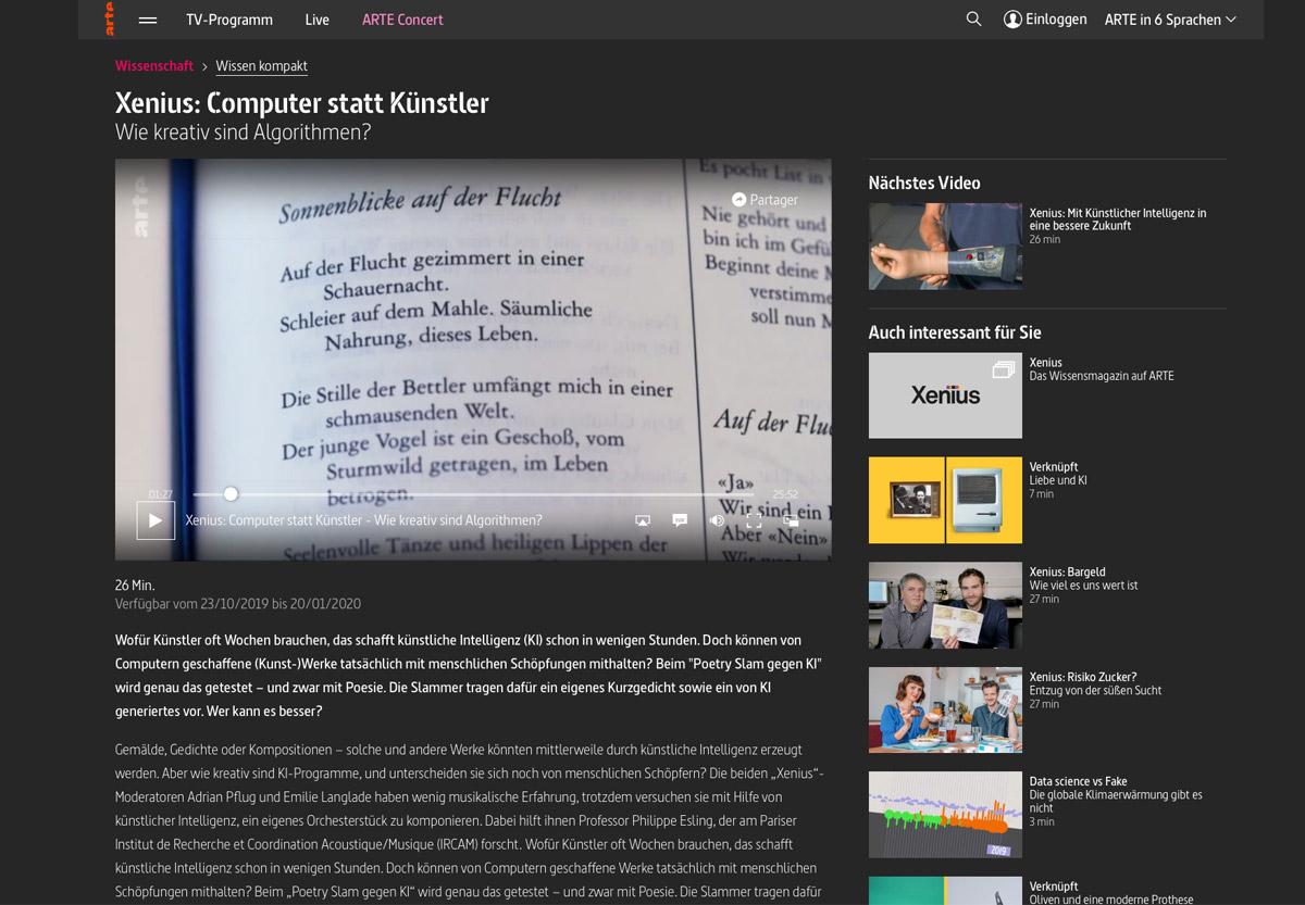 Arte Beitrag Zum Ki Gedicht Von Tunnel23 Artificial Creativity